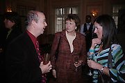 Ian Hislop, Joan Bakewell . The Oldie Of The Year Awards,  Simpsons in the Strand, London. 22 March 2005. ONE TIME USE ONLY - DO NOT ARCHIVE  © Copyright Photograph by Dafydd Jones 66 Stockwell Park Rd. London SW9 0DA Tel 020 7733 0108 www.dafjones.com