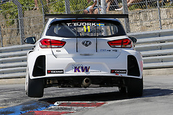 June 23, 2018 - Vila Real, Vila Real, Portugal - Thed Bjork from Sweden in Hyundai i30 N TCR of MRacing - YMR during the Race 1 of FIA WTCR 2018 World Touring Car Cup Race of Portugal, Vila Real, June 23, 2018. (Credit Image: © Dpi/NurPhoto via ZUMA Press)
