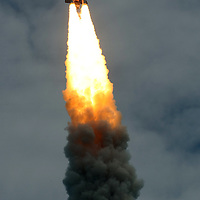 The space shuttle Atlantis lifts off from the Kennedy Space Center Friday, July 8, 2011, in Cape Canaveral, Fla. Atlantis is the 135th and final space shuttle launch for NASA.  (AP Photo/Alex Menendez)