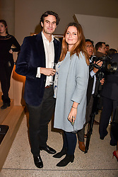 Rupert Finch & Lady Natasha Finch at the Range Rover Velar Global Reveal at The Design Museum, London England. 1 March 2017.