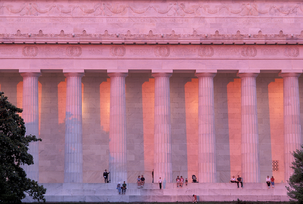 Lincoln Memorial,  Washington, District of Columbia, USA
