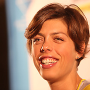 Blanka Vlasic, Croatia, Women's High Jump, at the Adidas Grand Prix Press Conference, Hyatt Grand Central, New York ahead of the Adidas Grand Prix at Icahn Stadium, Randall's Island. Manhattan, New York. 24th May 2012. Photo Tim Clayton