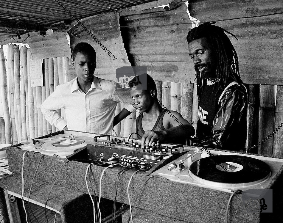 Bashment sound system - Jamaica 1980