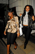 30.JANUARY.2007. LONDON<br /> <br /> SUGARBABES KEISHA AND AMELLE LEAVING SCKETCH CLUB FOR AN INSTYLE  MAGAZINE PARTY.<br /> <br /> BYLINE: EDBIMAGEARCHIVE.CO.UK<br /> <br /> *THIS IMAGE IS STRICTLY FOR UK NEWSPAPERS AND MAGAZINES ONLY*<br /> *FOR WORLD WIDE SALES AND WEB USE PLEASE CONTACT EDBIMAGEARCHIVE - 0208 954 5968*