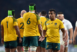 Will Genia of Australia looks on - Mandatory byline: Patrick Khachfe/JMP - 07966 386802 - 03/10/2015 - RUGBY UNION - Twickenham Stadium - London, England - England v Australia - Rugby World Cup 2015 Pool A.