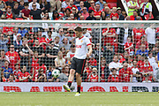 Manchester United 08 XI Michael Carrick in warm up during the Michael Carrick Testimonial Match between Manchester United 2008 XI and Michael Carrick All-Star XI at Old Trafford, Manchester, England on 4 June 2017. Photo by Phil Duncan.