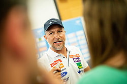 Stefan Abplanalp during presentation of new alpine ski team of Ilka Stuhec before new season 2019/20, on June 10, 2019 in Telekom Slovenije, Ljubljana, Slovenia. Photo by Vid Ponikvar / Sportida