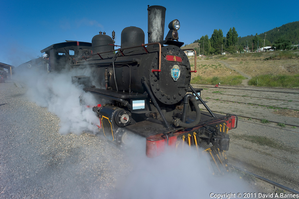 Locomotive of the Old Patagonia Express, Esquel, Chubut, Argentina
