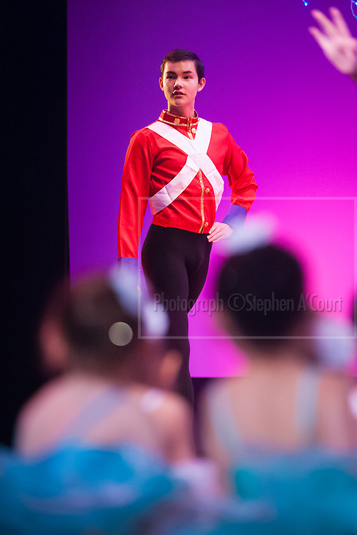 Wellington, NZ. 5.12.2015. Nutcracker Prince, from the Wellington Dance & Performing Arts Academy end of year stage-show 2015. Little Show, Saturday 10.15am. Photo credit: Stephen A'Court.  COPYRIGHT ©Stephen A'Court
