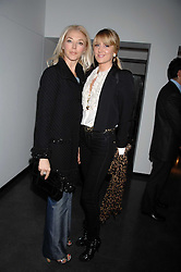 Left to right, TAMARA VERONI and LADY EMILY COMPTON at a private view of Octagan a showcase of work of photographer Kevin Lynch featuring the stars of the Ultimate Fighter Championship held at Hamiltons gallery, Mayfair, London on 17th January 2008.<br />