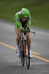 Steve Howard (PRI) during stage 1 of the Tour of Virginia.  The Tour of Virginia began with a 4.7 mile individual time trial near Natural Bridge, VA on April 24, 2007. Formerly known as the Tour of Shenandoah, the ToV has gained National Race Calendar (NRC) status for the first time in its five year history.