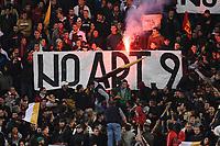 Striscione<br /> 28/10/2012 Roma, Stadio Olimpico<br /> Campionato di calcio Serie A 2012/2013<br /> Roma vs Udinese<br /> Foto Antonietta Baldassarre Insidefoto