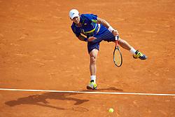 MONTE-CARLO, MONACO - Tuesday, April 13, 2010: Fernando Verdasco (ESP) during the Men's Singles 2nd Round match at the ATP Masters Series Monte-Carlo at the Monte-Carlo Country Club. (Photo by David Rawcliffe/Propaganda)