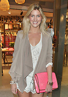 LONDON - June 013: Francesca Hull at Esprit Launch in Regent Street