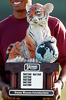 12 December 2004: Detail Tiger Woods Foundation Trophy 2004 Target World Challenge Presented by Williams held at the Sherwood Country Club in Thousand Oaks, CA.  Mandatory Credit:  Shelly Castellano/ICON SMI<br />