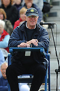 Picture by Ste Jones/Focus Images Ltd.  07706 592282.23/06/12.An umpire during the +medicash Liverpool International 2012 tennis at Calderstones Park, Liverpool.