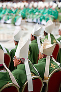 Vatican City oct 4th 2015, opening mass in St Peter's Basilica for  the bishops synod on family. In the picture some bishops