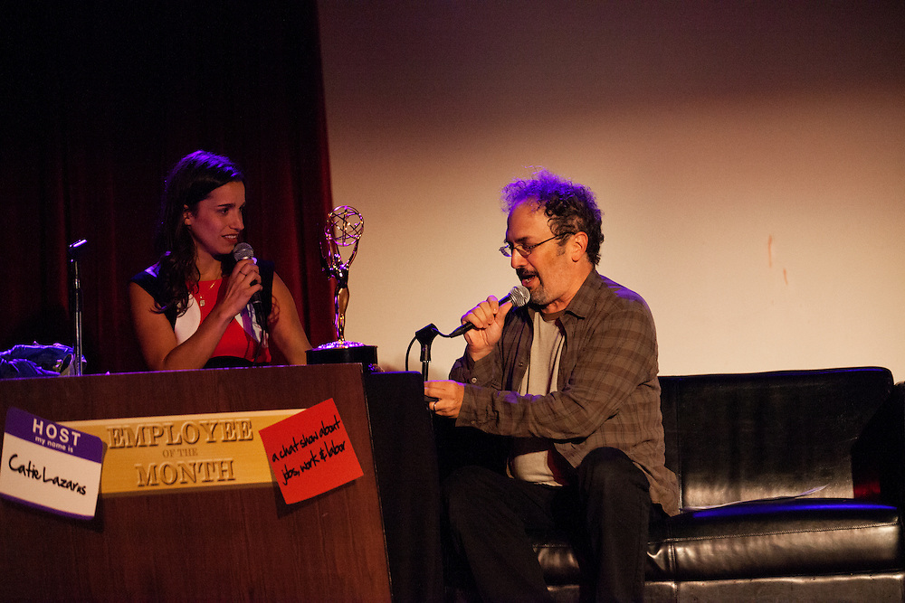 Catie Lazarus and guests Robert Smigel, Triumph, the Insult Comic Dog, Lin-Manuel Miranda, Mo Rocca, and Lady Rizo - Employee of The Month - The Bell House - September 18, 2013