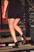 25.JUNE.2010 HERTFORDSHIRE<br /> <br /> DAVINA McCALL OUTSIDE THE BIG BROTHER HOUSE AS SHE WAITS TO EVICT THE PERSON FROM THE SERIES. AND SHOWS SELULITE ON HER LEGS.<br /> <br /> BYLINE: EDBIMAGEARCHIVE.COM<br /> <br /> *THIS IMAGE IS STRICTLY FOR UK MAGAZINES AND WORLDWIDE SALES ONLY*<br /> *FOR WEB USE PLEASE CONTACT EDBIMAGEARCHIVE - 0208 954 5968*