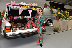 Eugenie Niarchos at the #SheInspiesMe Car Boot Sale in aid of Women for Women International held Brewer Street Car Park, Soho, London England. 6 May 2017.<br /> Photo by Dominic O'Neill/SilverHub 0203 174 1069 sales@silverhubmedia.com