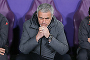 Jose Mourinho Manager of Manchester United Manager during the UEFA Europa League Quarter-final, Game 1 match between Anderlecht and Manchester United at Constant Vanden Stock Stadium, Anderlecht, Belgium on 13 April 2017. Photo by Phil Duncan.