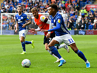Football - 2019 / 2020 Sky Bet (EFL) Championship - Cardiff City vs. Luton Town<br /> <br /> Josh Murphy of Cardiff City on the attack, at Cardiff City Stadium.<br /> <br /> COLORSPORT/WINSTON BYNORTH