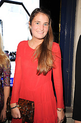 VICTORIA VON WESTENHOLZ at the Tatler Little Black Book Party held at Tramp, 40 Jermyn Street, London on 3rd November 2010.