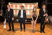 Martin Toal and guests during the National League Gala Awards Evening at Celtic Manor Resort, Newport, South Wales on 9 June 2018. Picture by Shane Healey.