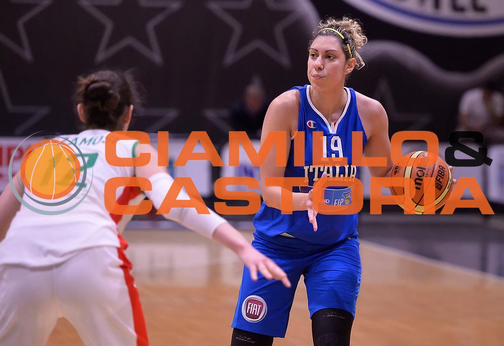 DESCRIZIONE : Roma Amichevole Pre Eurobasket 2015 Nazionale Italiana Femminile Senior Italia Ungheria Italy Hungary<br /> GIOCATORE : Alessandra Formica<br /> CATEGORIA : palleggio<br /> SQUADRA : Italia Italy<br /> EVENTO : Amichevole Pre Eurobasket 2015 Nazionale Italiana Femminile Senior<br /> GARA : Italia Ungheria Italy Hungary<br /> DATA : 15/05/2015<br /> SPORT : Pallacanestro<br /> AUTORE : Agenzia Ciamillo-Castoria/Max.Ceretti<br /> Galleria : Nazionale Italiana Femminile Senior<br /> Fotonotizia : Roma Amichevole Pre Eurobasket 2015 Nazionale Italiana Femminile Senior Italia Ungheria Italy Hungary<br /> Predefinita :