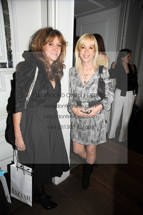 Left to right, SONIA FRIEDMAN and SALLY GREENE at the Harper's Bazaar Women of the Year Awards 2008 at The Landau, The Langham Hotel, Portland Place, London on 1st September 2008.<br /> <br /> NON EXCLUSIVE - WORLD RIGHTS