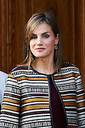 102616 Queen Letizia attends the Presentation of the report on the news treatment of disability