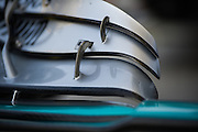 November 21-23, 2014 : Abu Dhabi Grand Prix, Mercedes  wing detail