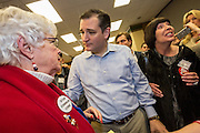 Senator Ted Cruz greets supporters at the South Carolina Tea Party Coalition convention on January 18, 2015 in Myrtle Beach, South Carolina. A variety of conservative presidential hopefuls spoke at the gathering on the third day of a three day event.