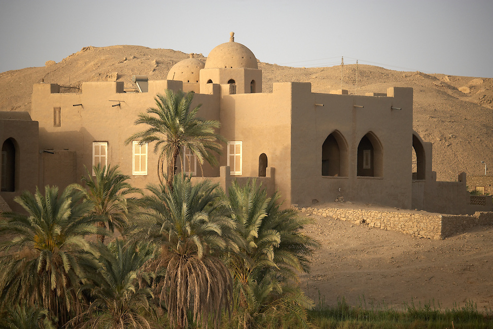 House in Nile River Valley, Egypt
