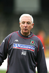 SWANSEA, WALES - TUESDAY MARCH 22nd 2005: Wales' assistant manager Roy Evans during training at Swansea City's Vetch Field Stadium. (Pic by David Rawcliffe/Propaganda)
