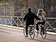 13-03-05 Milano: pista ciclabile lungo il Naviglio Martesana..Cycle Track of Naviglio Martesana in Milan