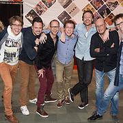 NLD/Hilversum/20131130 - Start Radio 2000, dj, Hans Schiffers, Daniel Dekker, Gijs Staverman, Bert Haandrikman, Sander de Heer, Henk van Steeg, Sander Guis en Kasper Kooij