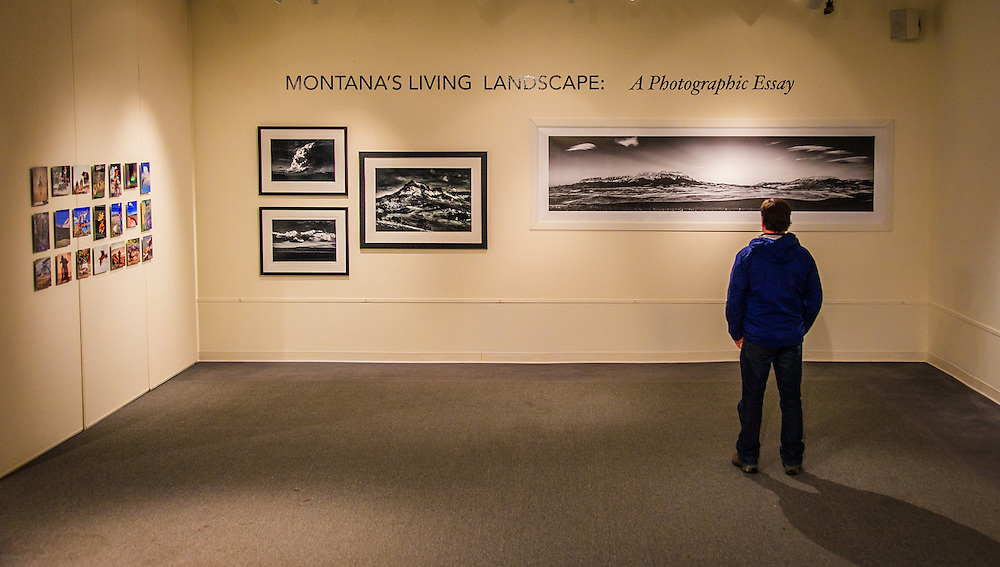 Helena photographer Jeff Van Tine and Kenton Rowe were twoof seven Montana photographers featured in a four month long exhibit at the Holter Museum.<br /> Montana's Living Landscape: A Photographic Essay at the Holter Museum of Art Sherman Gallery January 18 - April 14, 2013<br /> An exhibit of 100 photographs by Ansel Adams &quot;Ansel Adams: A Legacy&quot; ran at the same time at the Holter Museum.
