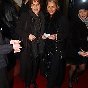 Premiere Marlene Dietrich Leiden, Cilly Dartelle en Milika Peterzon