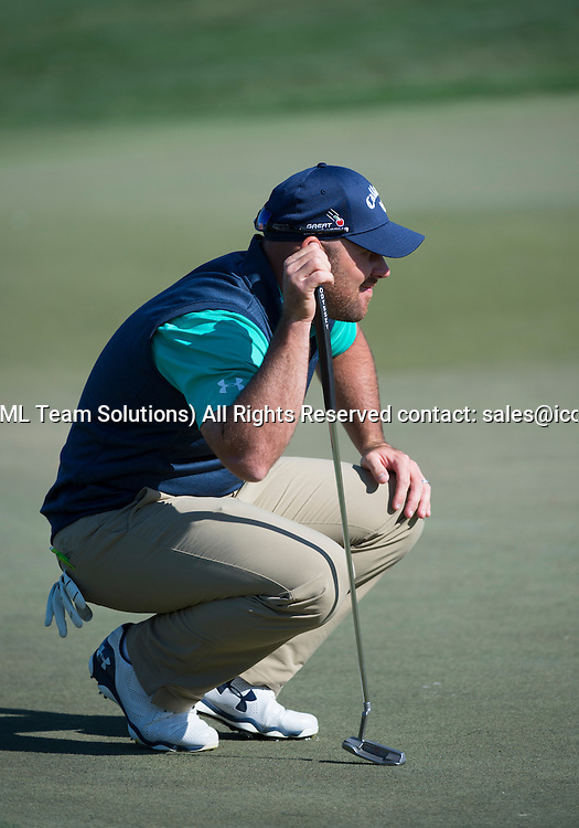 27 February 2016: Scott Brown during the third round of the Honda Classic at the PGA National Resort & Spa in Palm Beach Gardens, FL.