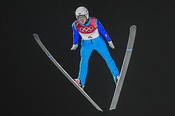 February 10, 2018 - Pyeonchang, Gangwon, South Korea - Martti Nomme of Estonia  at mens normal hill final at 2018 Pyeongchang winter olympics at Alpensia Ski Jumping Centre, Pyeongchang, South Korea on February 10, 2018. Ulrik Pedersen/Nurphoto  (Credit Image: © Ulrik Pedersen/NurPhoto via ZUMA Press)