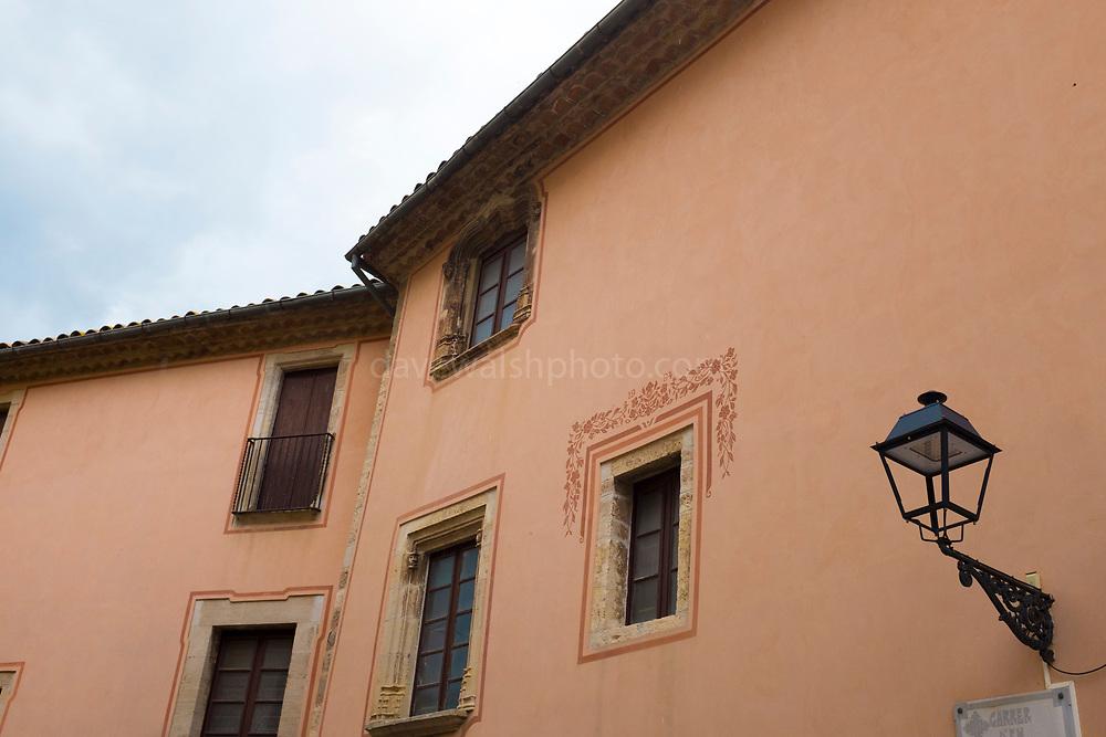 The house of Catalan patriot, Rafael Casanova Moià, Catalonia. Casanova was born here in 1714.