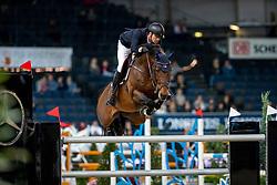 Junqueira Muylaert Pedro, BRA, Prince Royal Z MFS<br /> Stuttgart - German Masters 2018<br /> © Hippo Foto - Stefan Lafrentz