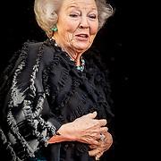 NLD/Amsterdam/20180116 - Nieuwjaarsontvangsten Koning en Koningin, Prinses Beatrix
