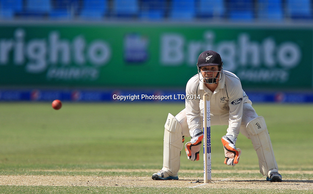 Pakistan vs New Zealand, 19 November 2014 <br /> BJ Watling on the third day of second test in Dubai