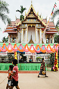 Temple fair outside of Kumphawapi village, Udon Thani