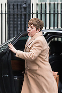 Leader of the House of Lords, Baroness Tina Stowell arrives at the UK Cabinet meeting at Downing Street, London.<br /> Picture by Paul Davey/Focus Images Ltd +447966 016296<br /> 08/03/2016