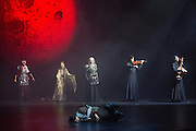 London, UK. Internationally renowned for his visually powerful adaptations of Shakespeare, Japan's great classical director, Yukio Ninagawa, returns to the Barbican with his production of Shakespeare?Äôs romance tragedy, Cymbeline. This new Japanese language production of the play is part of the World Shakespeare Festival, which forms part of the London 2012 Festival.