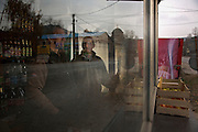 Street scene in Topolovnik, Serbia..Matt Lutton for the Financial Times.