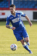 Jack Ainsley of Lowestoft Town during the Conference North match at St. James Park, Brackley<br /> Picture by David Horn/Focus Images Ltd +44 7545 970036<br /> 24/01/2015
